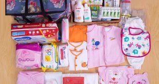 danh sách đồ sơ sinh cần mua cho bé