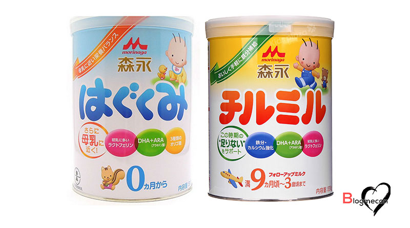 hướng dẫn cách pha sữa Morinaga