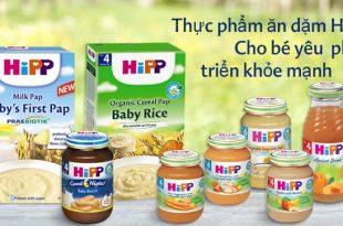 bột ăn dặm HiPP có những loại nào
