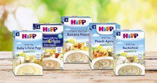 bột ăn dặm Hipp đa dạng về hương liệu