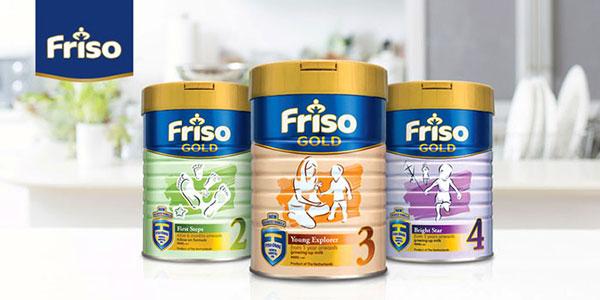 sữa Friso cho bé