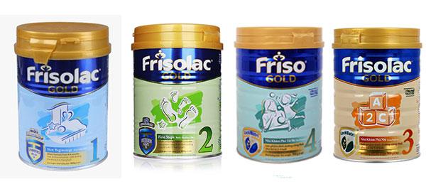 sữa frisolac gold