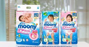 bỉm Moony Nhật Bản