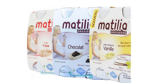 sữa bầu Matilia Pháp