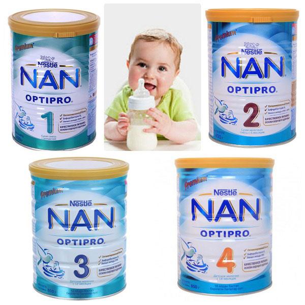 sữa nan rất mát cho bé
