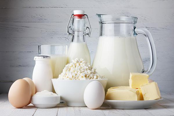 các sản phẩm từ sữa