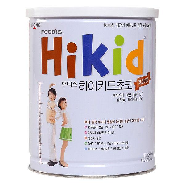 Sũa Hikid Hàn Quốc có tốt không?