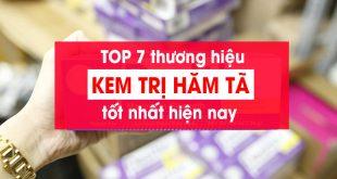TOP 7 loại kem trị hăm tã tốt nhất 2019