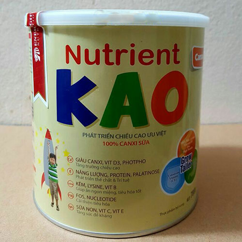 Sữa Nutrient Kao Singapore