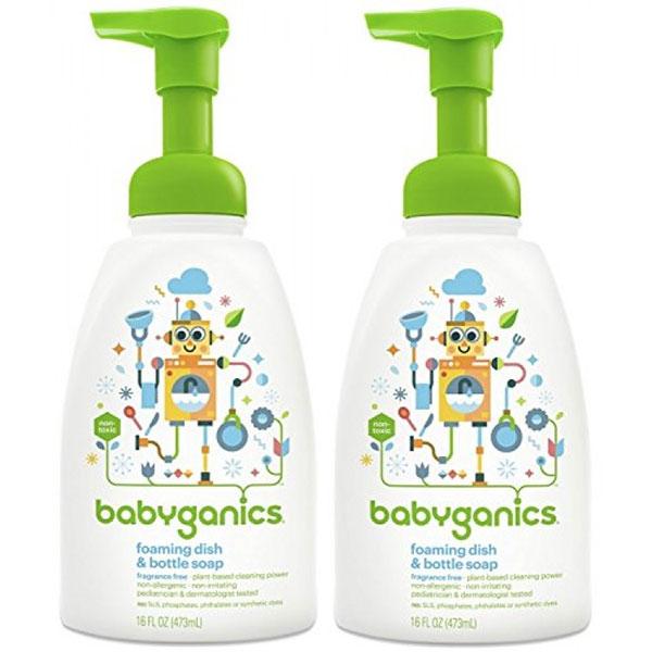 Nước rửa bình hữu cơ Babyganics