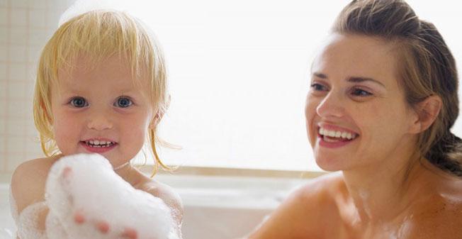 sữa tắm gội tốt cho trẻ sơ sinh