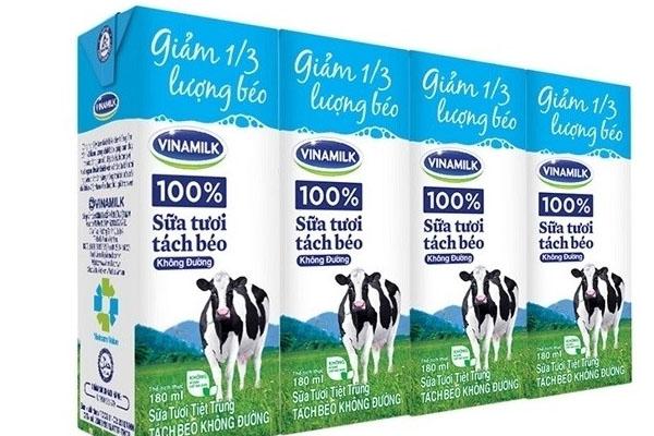Sữa tươi không đường là gì