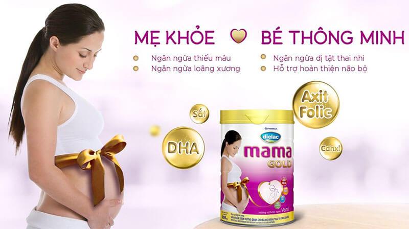 Sữa Optimum Mama giúp mẹ khỏe, bé thông minh