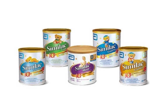 Dòng sữa Similac có giá từ 300 - 700.000VNĐ