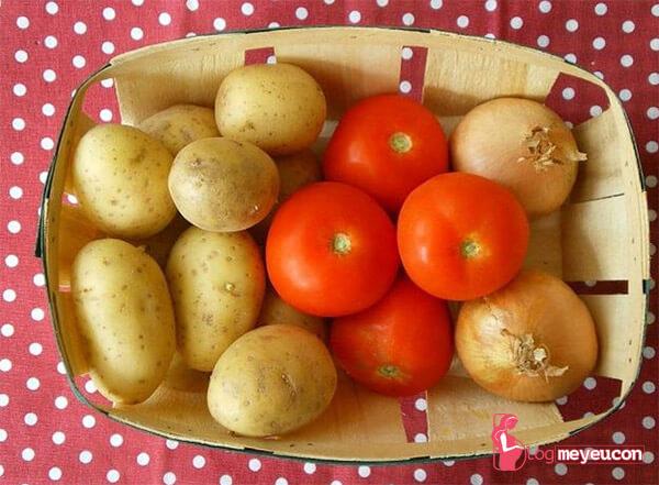 Khoai tây có kỵ cà chua không?