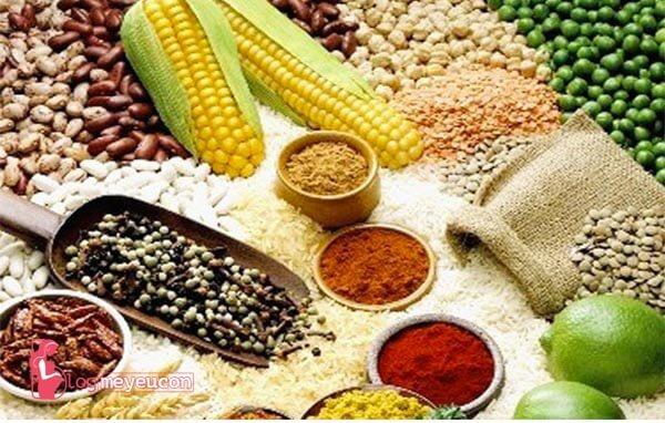 Thực phẩm chứa đường, tinh bột & ngũ cốc