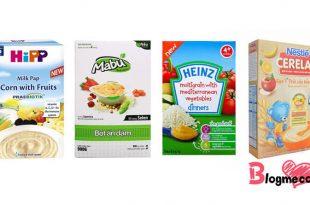 Top 4 loại bột ăn dặm tốt nhất cho bé 6 tháng tuổi