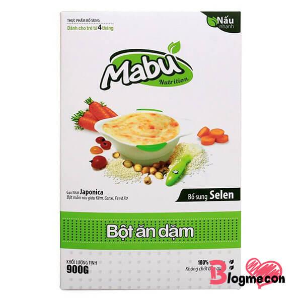 bột ăn dặm Mabu