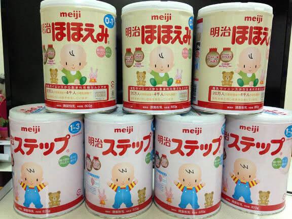 sữa Mieji cho bé