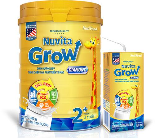 Sữa Nuvita GrowDiamond