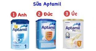 Sữa Aptamil có mấy loại