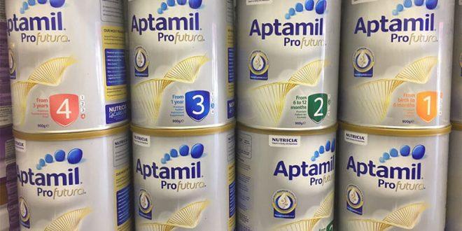 Sữa Aptamil của Anh, Úc và Đức sữa nào tốt hơn?
