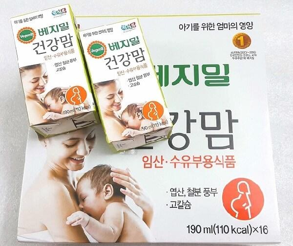 Sữa bầu Vegemil của Hàn Quốc được rất nhiều mẹ bầu tin tưởng sử dụng