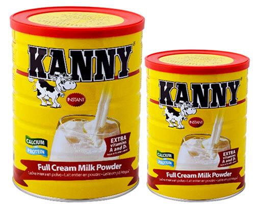 Sữa bột Kanny thích hợp cho sự phát triển của trẻ nhỏ