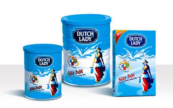 Sản phẩm sữa bột Cô Gái Hà Lan rất quen thuộc với người tiêu dùng Việt Nam