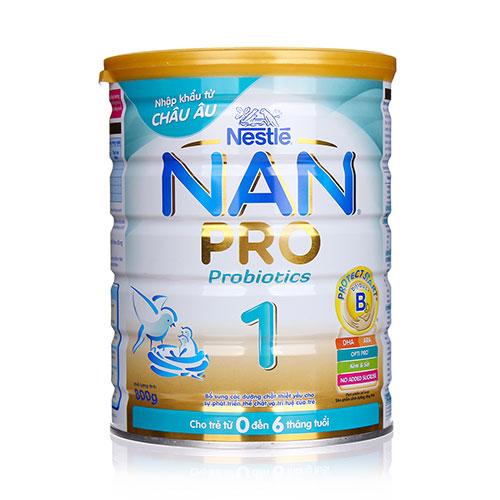 Sữa Nan Pro tốt cho bé