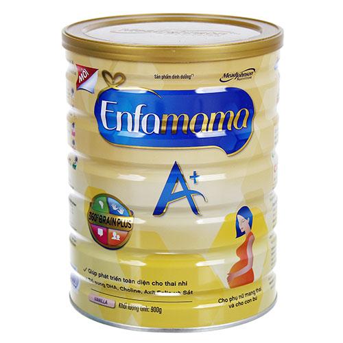 Sữa bầu Enfamama vanilla có hương vị dịu nhẹ, kích thích được vị giác của mẹ bầu
