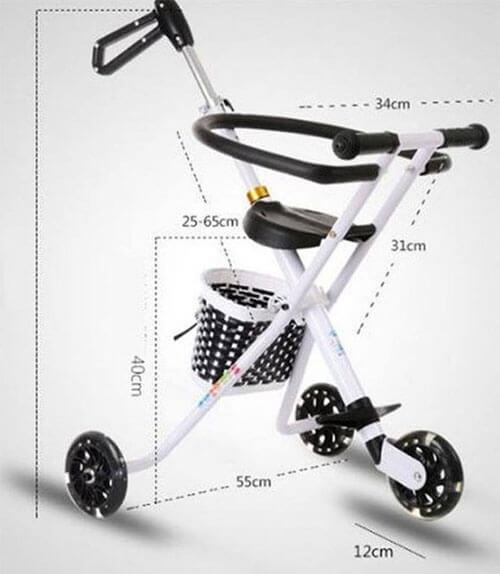 Xe đẩy trẻ em 3 bánh (1)