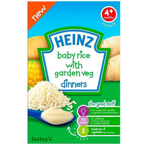 Bột ăn dặm ngọt Heinz cho bé