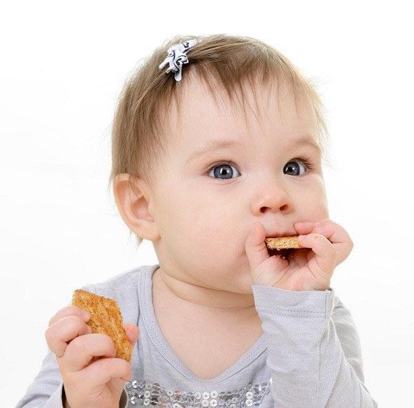 Bánh ăn dặm tốt cho bé