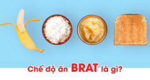 Chế độ ăn BRAT là gì