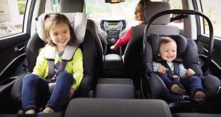 Vị trí lắp ghế ngồi ô tô an toàn nhất cho bé