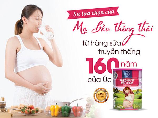 Sữa cho bà bầu Royal Ausnz Pregnant Mother Formula (1)
