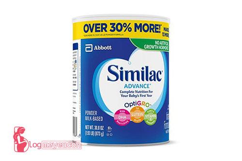 Sữa Similac Advance cho bé 0 -12 tháng tuổi