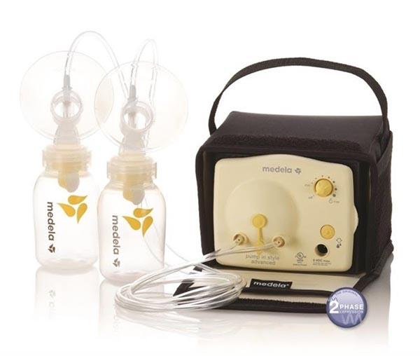 Medela Pump sử dụng công nghệ hiện đại Expression chia làm 2 giai đoạn mô tả nhịp bú tự nhiên của bé
