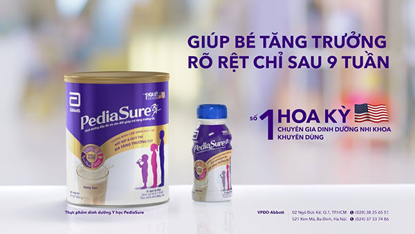 Sữa Pedia Sure PA