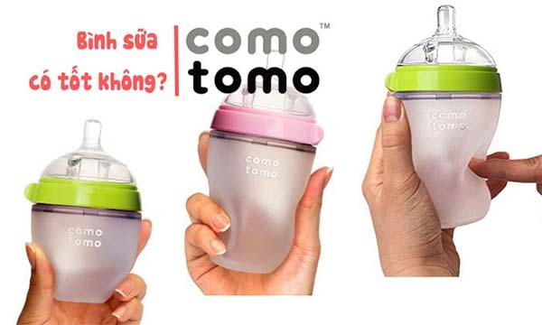 Bình sữa Silicon Comotomo có tốt không?