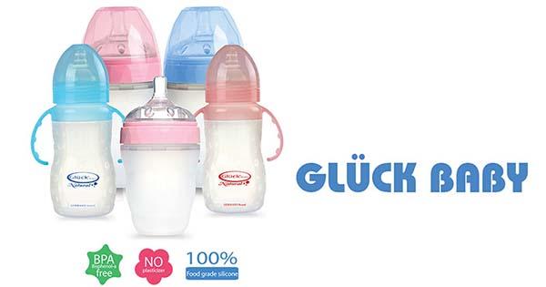Bình sữa Silicon Gluck của Đức cũng được đánh giá rất cao