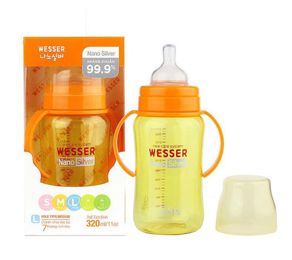 Bình sữa Wesser Nano Hàn Quốc có tốt không?
