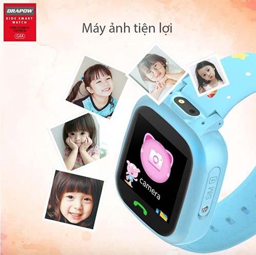 Đồng hồ Drapow G4A trang bị camera thông minh