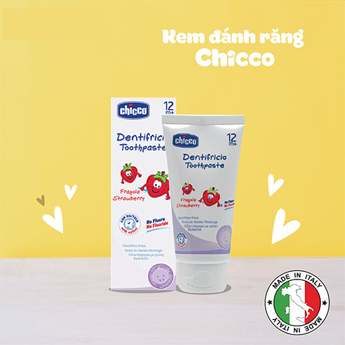 Kem đánh răng Chicco của Ý có tốt không?