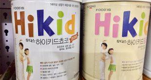Sữa Hikid Hàn Quốc có tốt không?