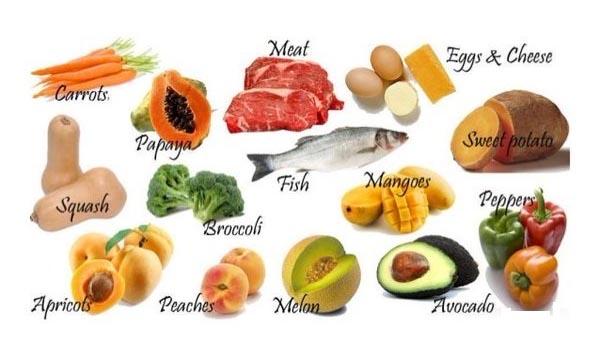 Thực phẩm giàu Vitamin A tốt cho bà bầu