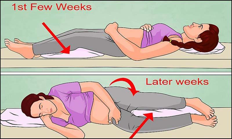 Những lưu ý để có giấc ngủ ngon trong thai kỳ