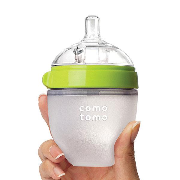 Bình sữa Comotomo được làm từ chất liệu Silicone