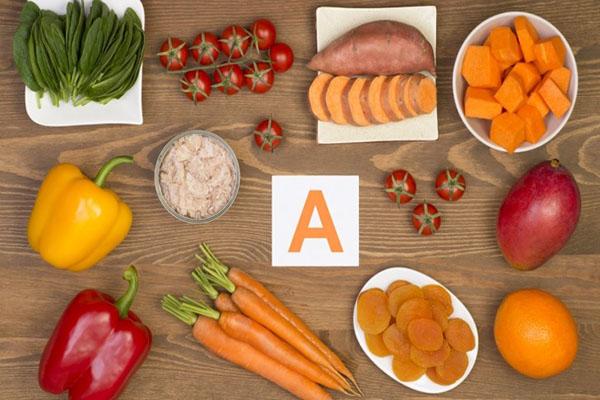 Nhóm thực phẩm giàu vitamin A